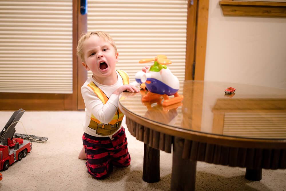 wybuchy zlosci u dziecka